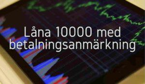 Låna 10000 med betalningsanmärkning