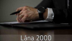 Låna 2000