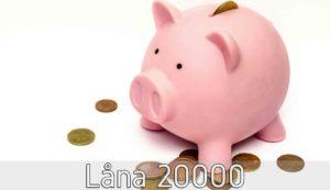 Låna 20000