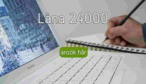 Låna 24000