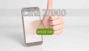Låna 27000