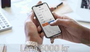 Låna 5000 kr