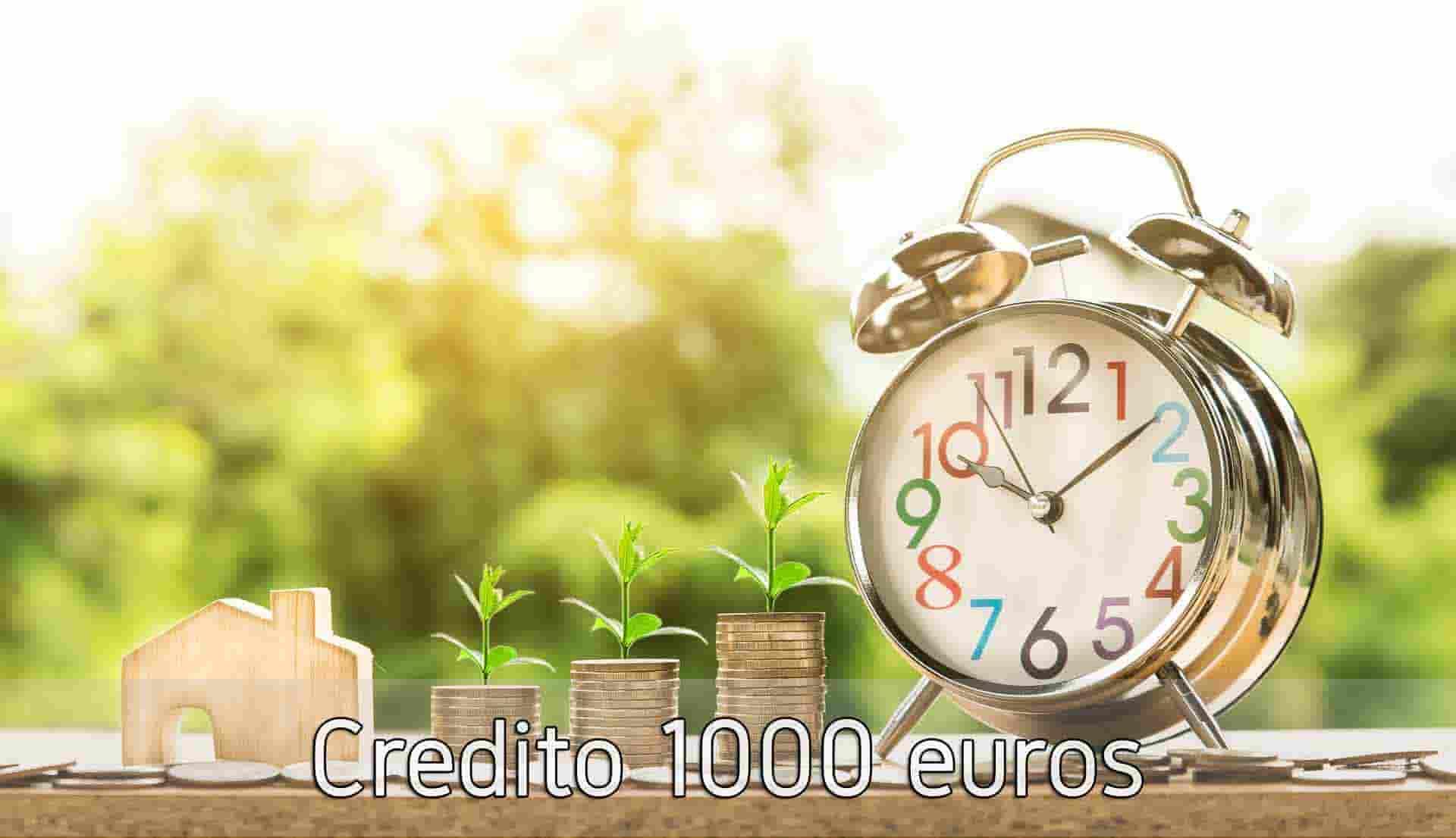 Credito 1000 euros
