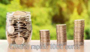 Credito rapido 1000 euros