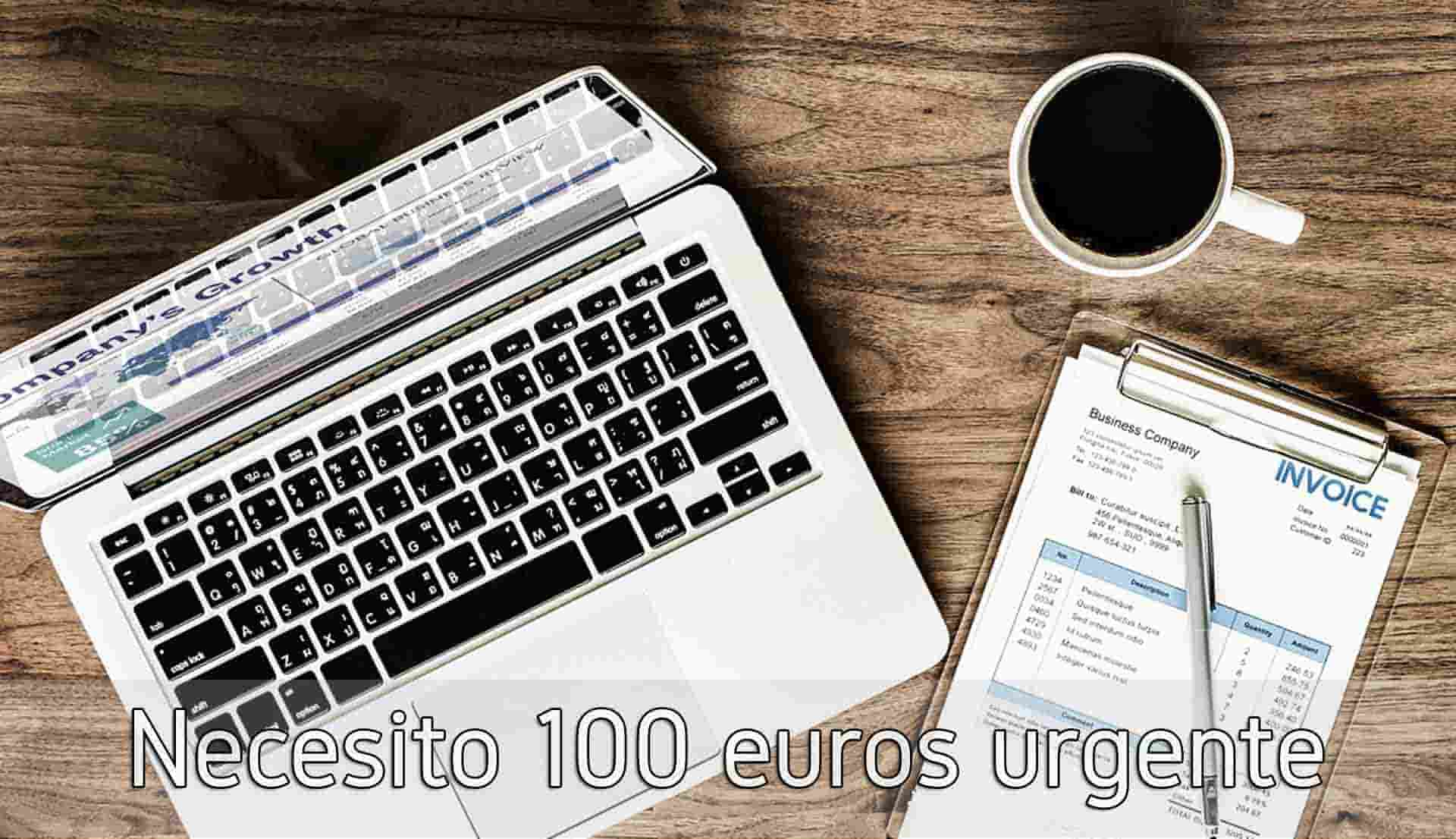 Necesito 100 euros urgente