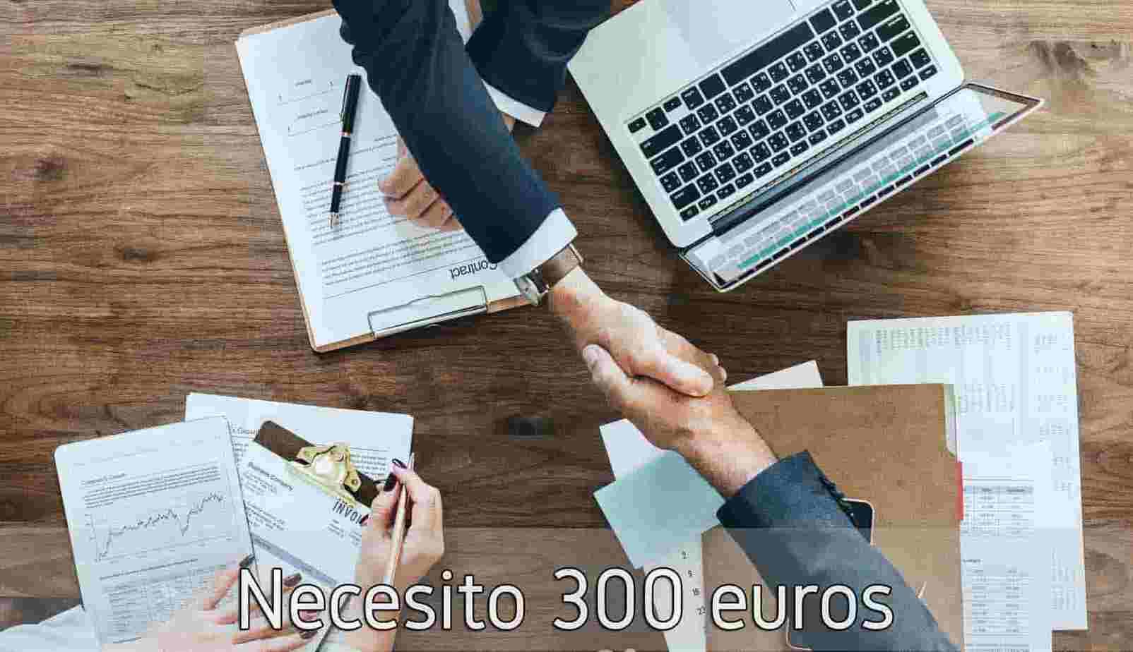 Necesito 300 euros