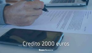 Credito 2000 euros