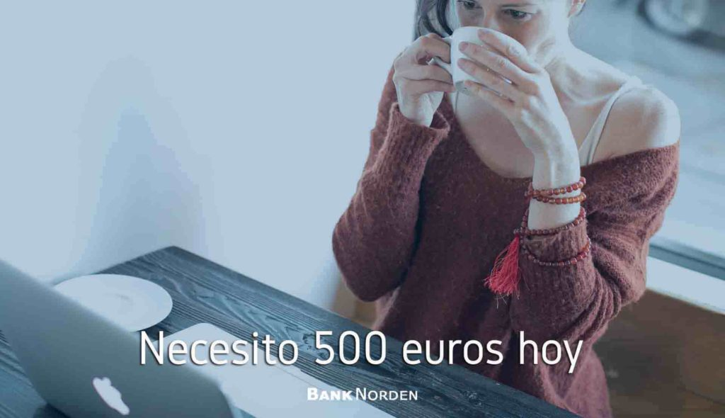 Necesito 500 euros hoy