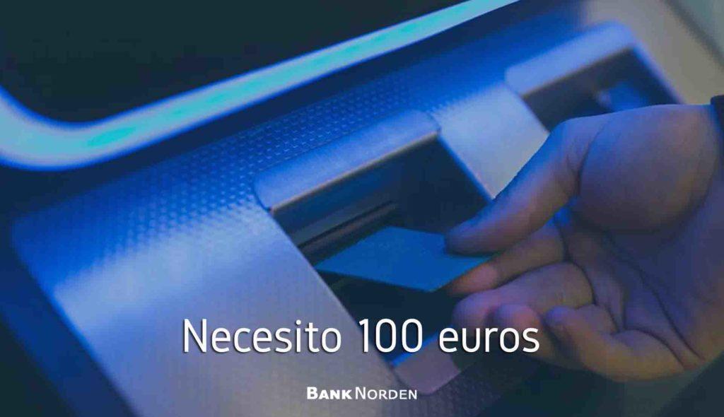 necesito 100 euros