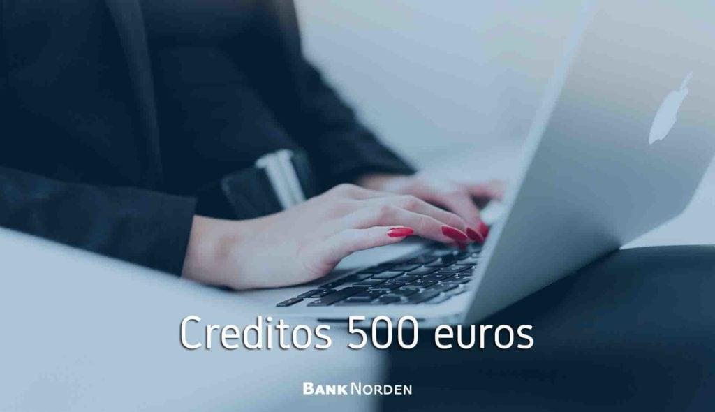 Creditos 500 euros