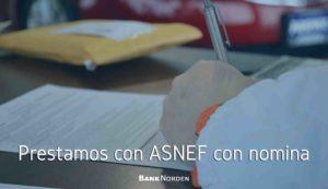 Prestamos con ASNEF con nomina