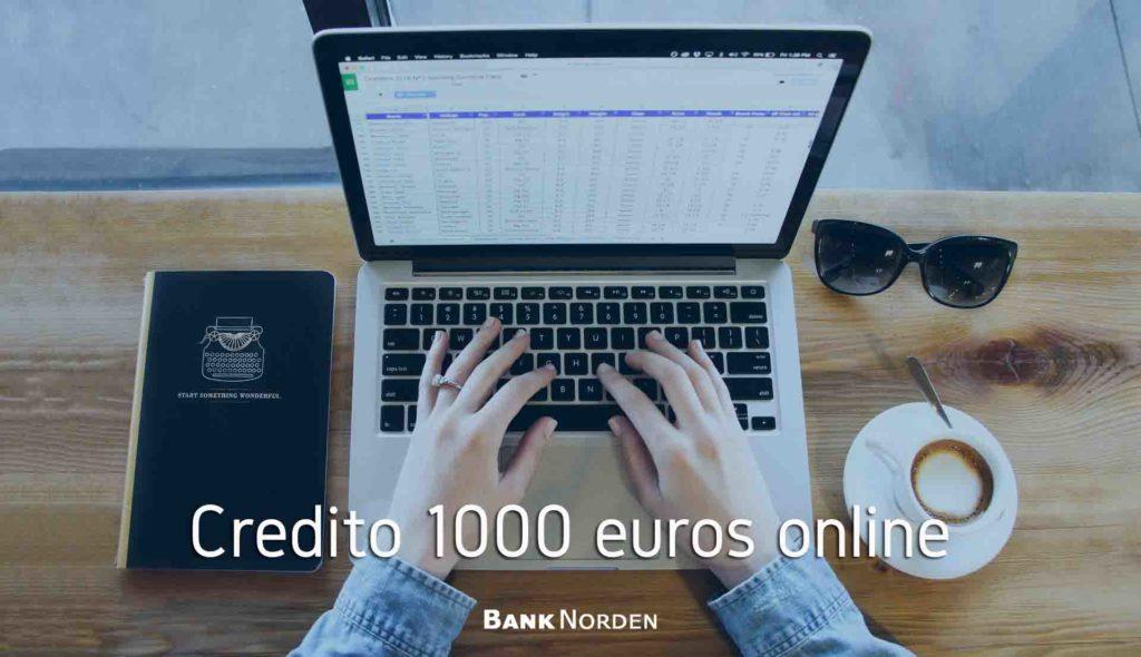 credito 1000 euros online