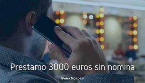 prestamo 3000 euros sin nomina