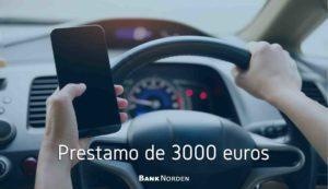 prestamo de 3000 euros