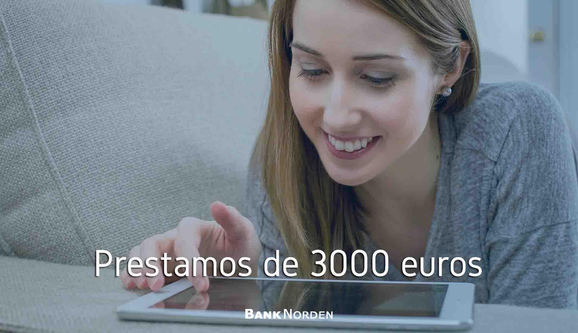 prestamos de 3000 euros