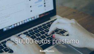 50000 euros prestamo