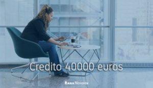 Credito 40000 euros