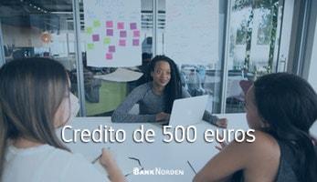 Credito de 500 euros