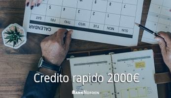 Credito rapido 2000€