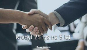 Kredyt 25 tys na 5 lat