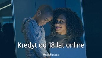 Kredyt od 18 lat online