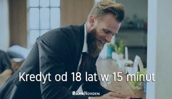 Kredyt od 18 lat w 15 minut