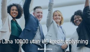 Låna 10000 utan UC kreditupplysning