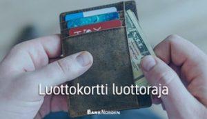 Luottokortti luottoraja