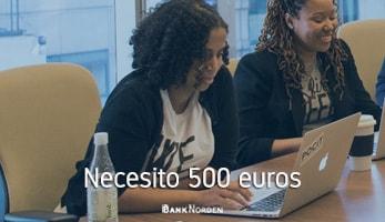 Necesito 500 euros