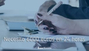 Necesito 6000 euros en 24 horas