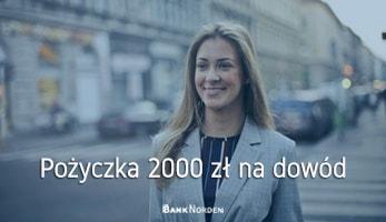 pożyczka 2000 zł na dowód