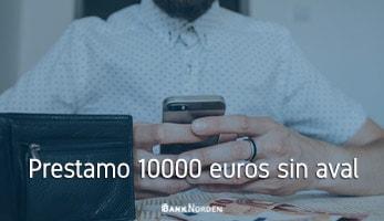 Prestamo 10000 euros sin aval