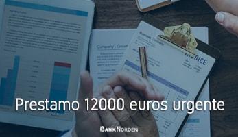 Prestamo 12000 euros urgente