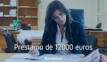 Prestamo de 12000 euros