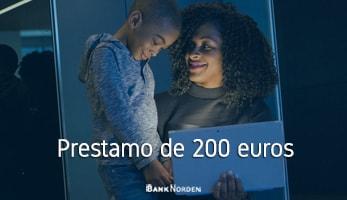 Prestamo de 200 euros