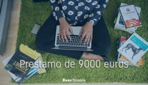 Prestamo de 9000 euros
