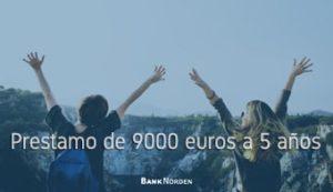 Prestamo de 9000 euros a 5 años