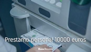 Prestamo personal 10000 euros