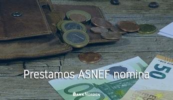 Prestamos ASNEF nomina