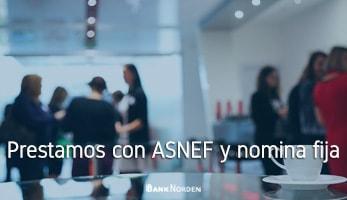 Prestamos con ASNEF y nomina fija