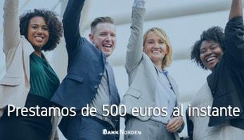 Prestamos de 500 euros al instante
