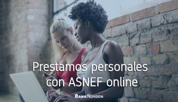 Prestamos personales con ASNEF online