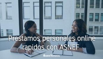 Prestamos personales online rapidos con ASNEF
