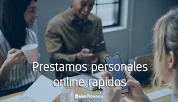 Prestamos personales online rapidos