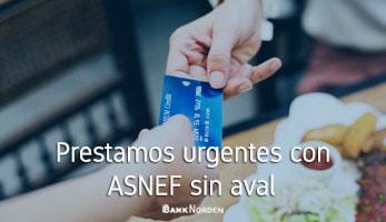 Prestamos urgentes con ASNEF sin aval