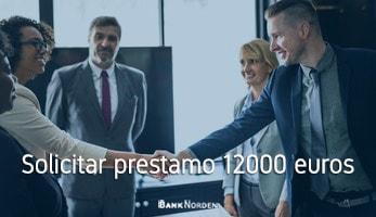 Solicitar prestamo 12000 euros