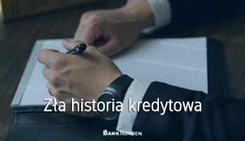 Zła historia kredytowa