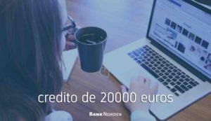 credito de 20000 euros