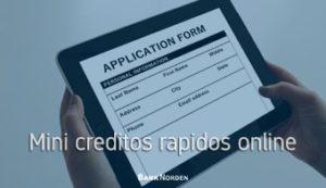 mini creditos rapidos online
