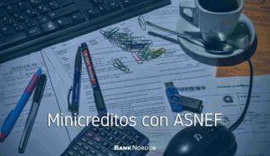 minicreditos con ASNEF